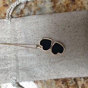 Jewelry - 14K Heart Locket pendant & necklace